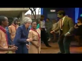Theresa May vs Mr. Bean