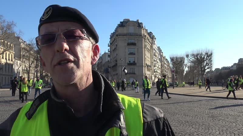 20190314: Gula västar om Macron-lojala polisers övervåld