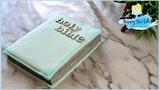 BIBLE cake topper TUTORIAL CHRISTENING BAPTISM CAKE