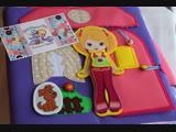 Книжка-домик для куколки