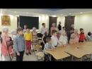 занятие детского хора воскресной школы Ихтис