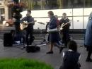 Street band Восьмиклассница cover Кино Петербург