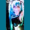 """さんちゃん 🔹 San-chan on Instagram: """"🎵Miku, Miku, you can call me Miku, blue hair, blue tie, hiding in your WiFi~🎵 (volume warning) Decided to be extra..."""