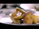 Нью йоркский стейк с картофелем и грибами mp4