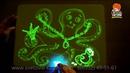 Рисуй светом обзор. Рисуй светом набор для рисования в темноте, планшет. Рисуй светом отзывы.