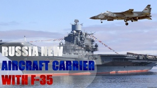 Russia Wants New Aircraft Carriers and a New Fighter Jet That Has Something in Common with the F-35