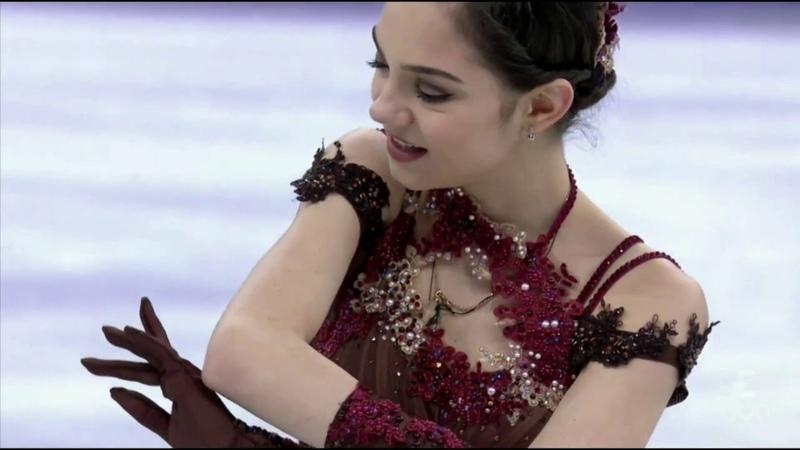 Evgenia MEDVEDEVA FS - Olympics 2018
