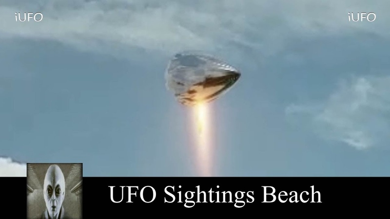 UFO Sightings At The Beach October 15th 2018