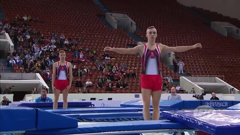 Витебские батутисты заняли первое место на чемпионате мира в Санкт-Петербурге