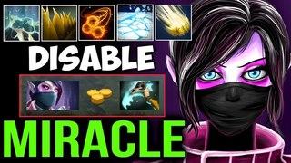 MIRACLE- Templar Assassin vs Team Full Disable with Scythe of Vyse Dota2