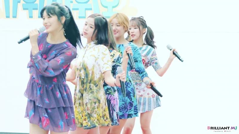 180708 Celebrated Stage ▶ Busters(버스터즈) Grapes(포도포도해) - MinJi(민지) @청계천