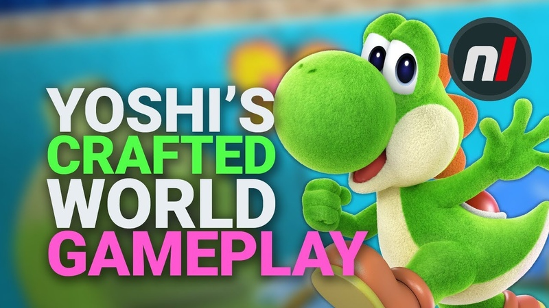 NEW Yoshis Crafted World Co-Op Solo Gameplay - Nintendo Switch