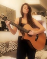 Playing James Taylor on my Taylor. Feels like home.
