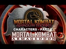 Mortal Kombat: Armageddon (K.A.F) - Kreating MK Shaolin Monks Characters - Part 2