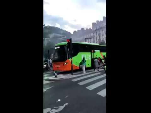 Frankreich im Rausch - Flixbus wird WÄHREND der Fahrt ausgeraubt!