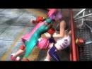 【腹パンチ リョナ】DOA5U Belly Punch Ryona くノ一は責められるのがお好き。。