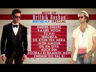 Best Of Hrithik Roshan Songs _ Birthday Special _ T-Series
