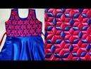 Weaving Knitting Pattern dress design girl frock smoking origami latest cutting design/ day cat may