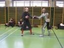 техника боя на мечахчасть 5