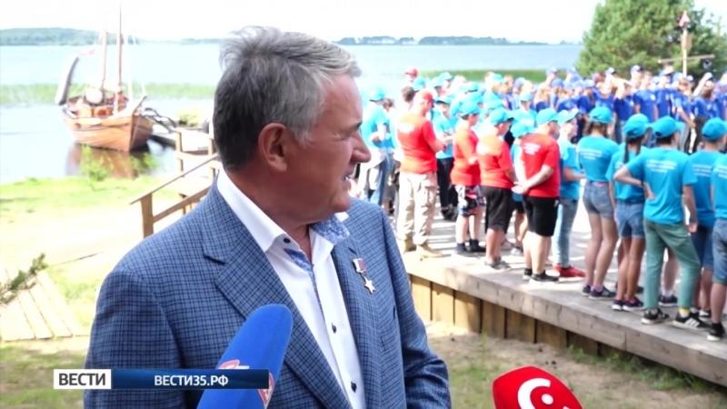 Международный фестиваль Корабелы Прионежья открылся в Вытегорском районе