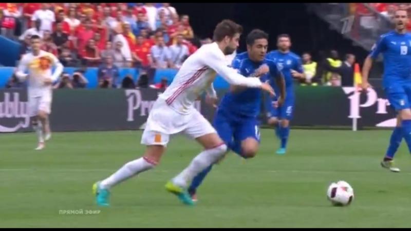 ЕВРО 2016 1\8 Италия 20 Испания