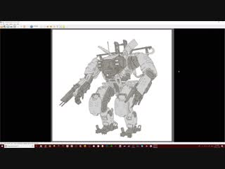 Дизайн робота - меха в Blender