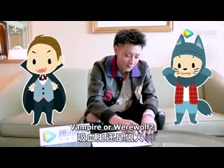 [video] 190419 tao @ speed quiz in 60s | eng sub