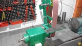 Homemade belt grinder 50x915/Szlifierka taśmowa 50x915