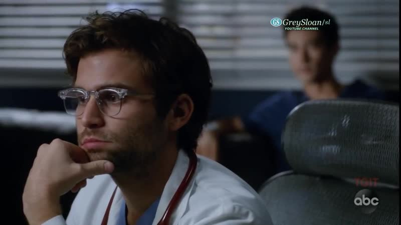 Greys Anatomy 15x06 Intern Schmitt and Dr Nico Kiss - I Thought This Is a Teach