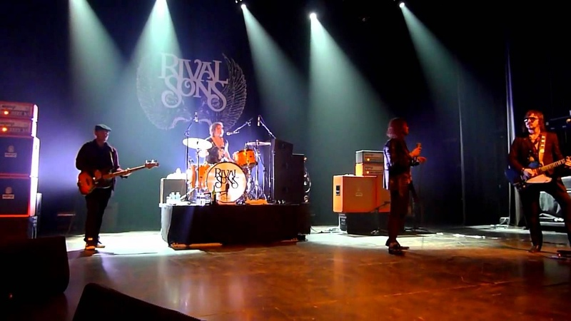 Rival Sons: Pressure Time Soul I Want More @ AB Brussels 2012