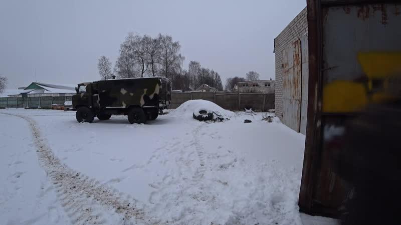 Запаска на Урал 4320,мясорубкаЮтуб канал Custom Truck