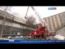 Вести Москва • Пожар на мебельном складе в Королеве тушат больше 17 часов