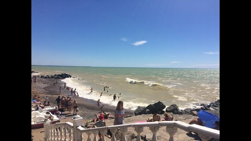 Крым 2018 Лето Поездка в Николаевку Отдых на пляже смотреть онлайн без регистрации