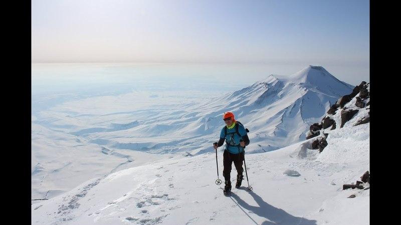 Восхождение на Корякский вулкан, Камчатка. Climb to Koryakskiy volcano, Kamchatka