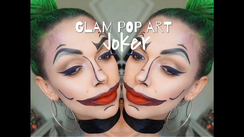 Glam Pop Art Joker| SUICIDE SQUAD | Halloween 2016 |