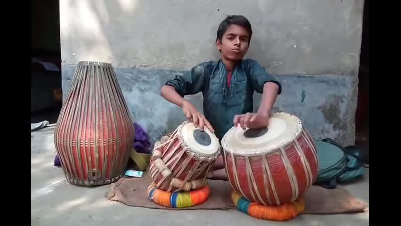 Tabla and khol by Akash Das