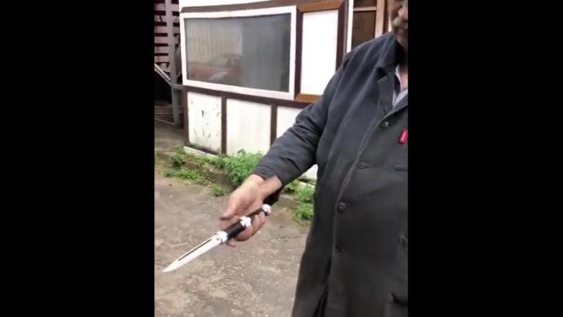 Нож-трансформер Fortel Tourist от Atroposknife