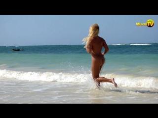 Jenny Scordamaglia Nude Beach Run Jamaica HD
