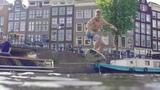 Surfing in Amsterdam