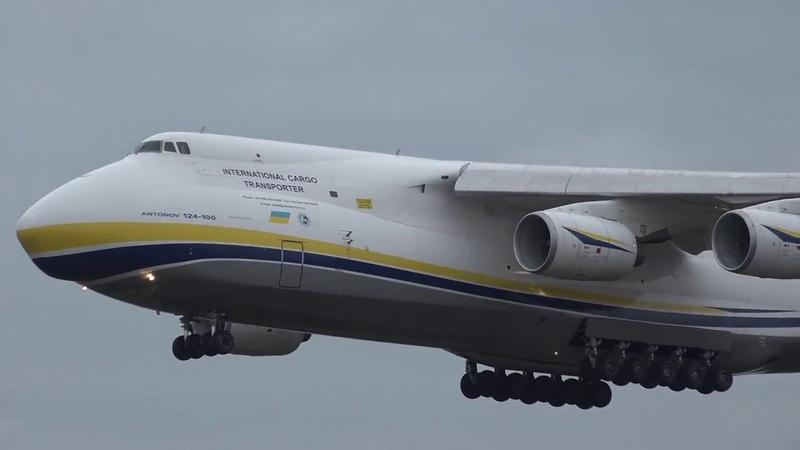 Украина возобновляет на ГП «Антонов» производство легендарных самолетов Ан -124 «Руслан»