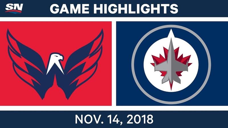 NHL Highlights | Capitals vs. Jets – Nov. 14, 2018