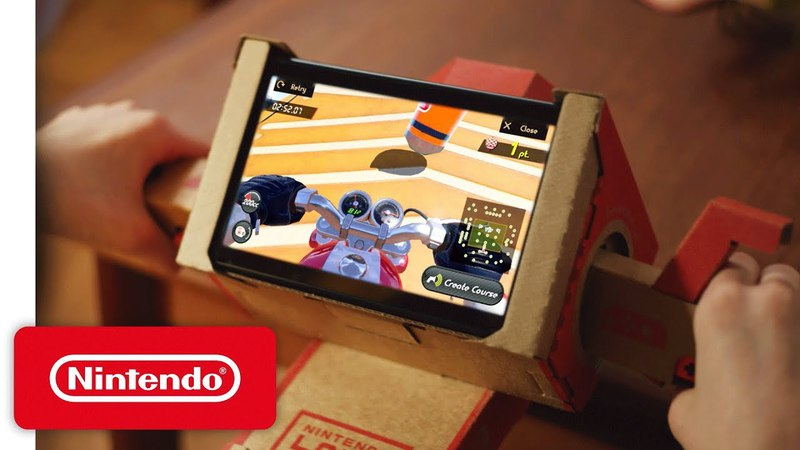 Make, Play, and Discover with the Nintendo Labo Variety Kit