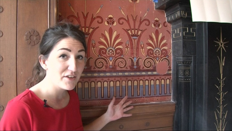 Glasgow's famous Holmwood House gets a revamp - STV News report