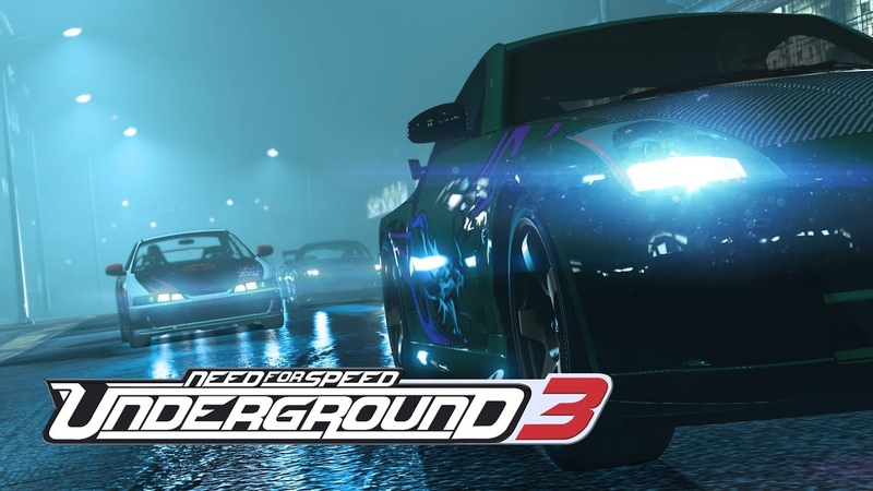 Need For Speed Underground 3 2019 Trailer PS4, XBOX ONE, PC [4K] (Fan Made)