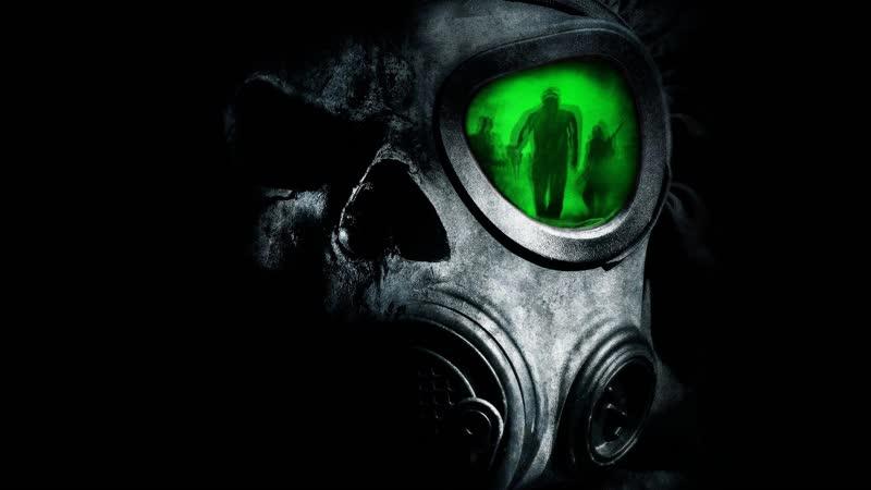 Зомби в противогазе Zombie Gas Mask