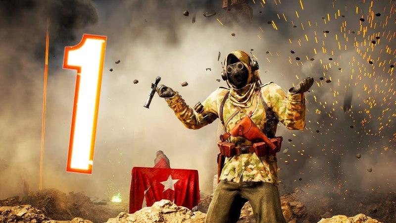 Battlefield 1 - Random Funny Moments 27 (Flying Ship, The Best Spawns!)