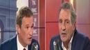 Nicolas Dupont Aignan face à Jean Jacques Bourdin en direct