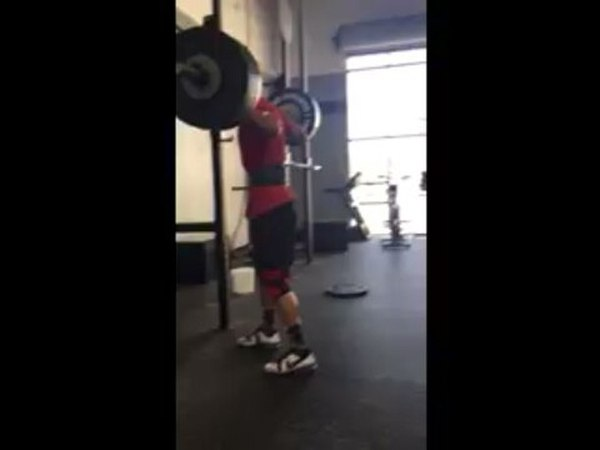 Brian Patrick Wade в Instagram: «305 lb Snatch Balance OHS!! New PR!! Love my crossfit community and the brotherhood that has formed being a part...