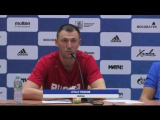 Россия- Болгария Пресс-конференция- FIBA Basketball World Cup 2019 European Qualifiers_00