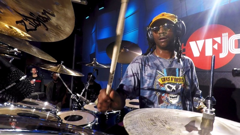 VFJams LIVE! - Mike Mitchell - Drum Cam